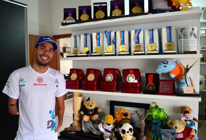 Daniel Dias nadador (Foto: Danilo Sardinha/GloboEsporte.com)