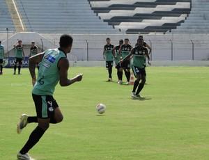 Comercial treina no estádio Palma Travassos (Foto: Gabriel Lopes / Comercial FC)