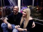 Ex-BBB Fernando usa rede social para dar os parabéns para Aline