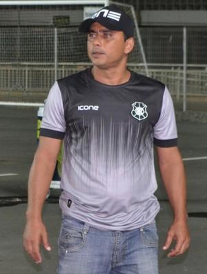 Erich Bonfim. técnico Rio Branco, Copa Verde (Foto: Sidney Magno Novo)