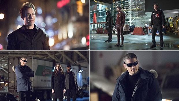 Flash: dois super-heróis voltam no penúltimo episódio para ajudar Barry [GLOBO] Montagem-flash