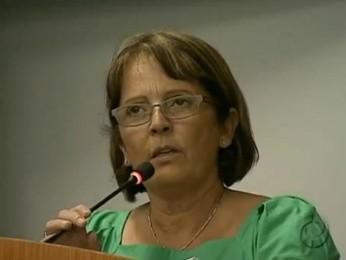 Vereadora Ana Maria de Holleben, de Ponta Grossa (Foto: Reprodução/RPCTV)