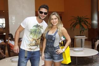 Ronaldo e Renata BBB12 (Foto: Marcos Serra Lima/EGO)