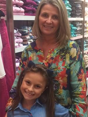 Rafa Gomes com a tia Maristela (Foto: Arquivo pessoal)