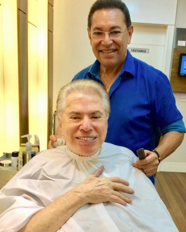 Silvio Santos e Jassa (Foto: Reprodução/Instagram)