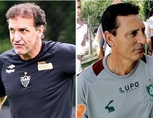 Cuca Paulo Comelli Atlético-MG América-MG (Foto: Arte Globoesporte.com)
