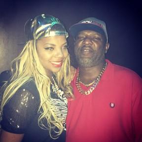 MC Ludmilla e Mister Catra em festa de Hugo Gloss na Zona Sul do Rio (Foto: Instagram/ Reprodução)