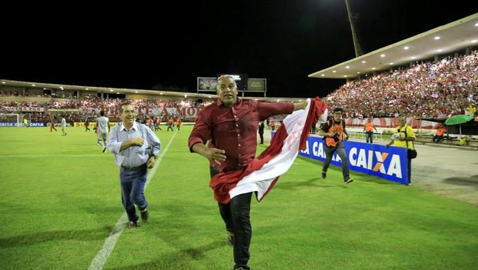 Ademir Fonseca, técnico do CRB (Foto: Ailton Cruz/ Gazeta de Alagoas)