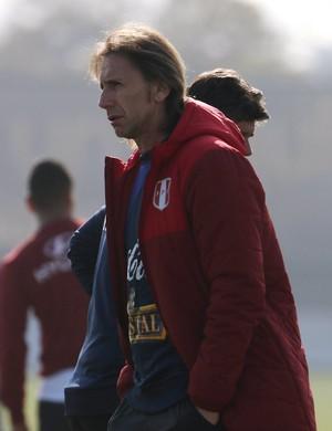 Ricardo Gareca treino Peru (Foto: Reuters/Pablo Sanhueza)