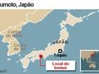 Forte terremoto atinge o Japão