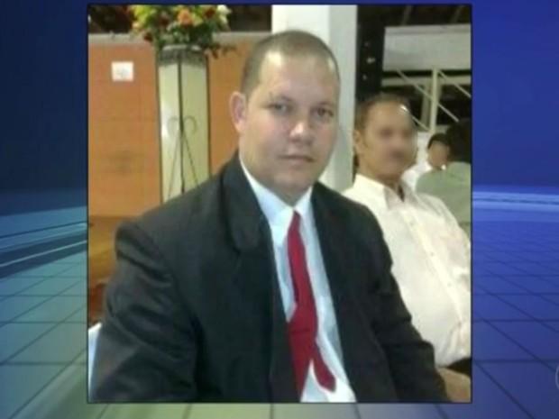 O corpo do segurança Claudinei Lima Cardoso foi encontrado em Itu (Foto: Reprodução/TV TEM)