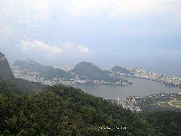 Frente fria deve trazer chuva ao Rio neste sábado  (Foto: (Foto: Marcos Estrella/TV Globo))