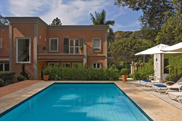 Charme e hospitalidade italianos em casa brasileira (Foto: Alain Brugier/ divulgação)