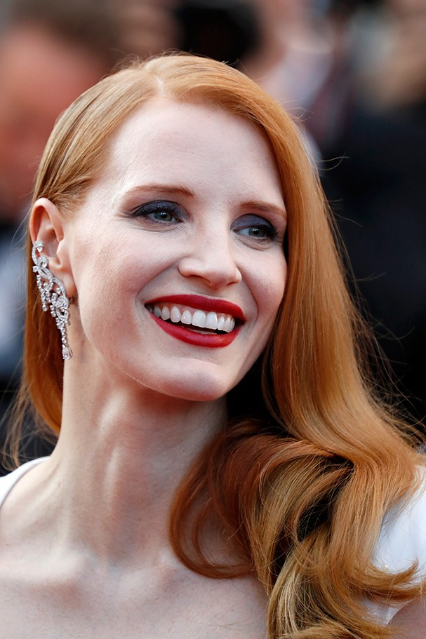 CANNES, FRANCE - MAY 28:  Jury member Jessica Chastain attends the Closing Ceremony of the 70th annual Cannes Film Festival at Palais des Festivals on May 28, 2017 in Cannes, France.  (Photo by Tristan Fewings/Getty Images) (Foto: Getty Images)