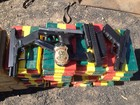 Polícia apreende pistolas, crack e cocaína entre 36 toneladas de milho