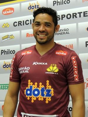 Luiz Criciúma goleiro (Foto: João Lucas Cardoso)