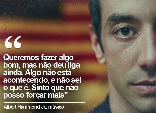 Albert Hammond Jr. (Foto: Divulgação / Jason McDonald / Facebook do músico)