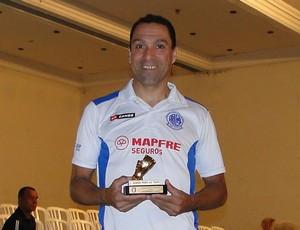 Bagé goleiro de futsal da AABB-SP (Foto: Divulgação Federação Paulista de Futsal)