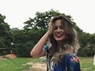 Suzanna Freitas, filha de Kelly Key, tem dia de modelo