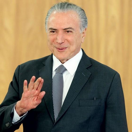 O Presidente Michel Temer  (Foto:  ANDRÉ DUSEK/ESTADÃO CONTEÚDO)