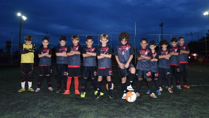 Atletas mirins vão encarar o Mundialito de Futebol Sete (Foto: Flapalmas/Divulgação)