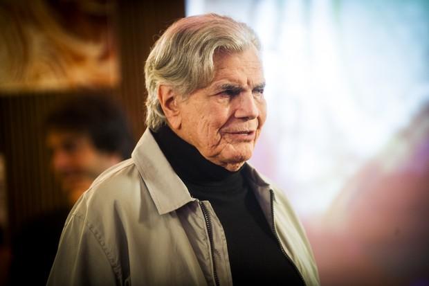 Tarcísio Meira como Fausto na novela A Lei do Amor (Foto: Globo/João Miguel Júnior)