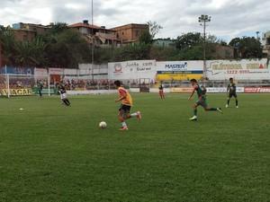 Peneirada do Guarani-MG para escolher time para disputar Taça BH  (Foto: Nathalia Santos/Divulgação)