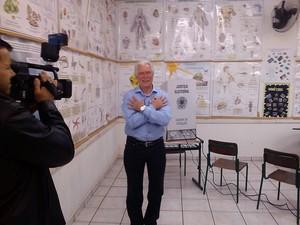 Antoninho Rossi, do PSD, tem 59 anos e é professor de Lingua Portuguesa (Foto: Juliana Giongo/RBS TV)