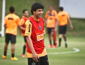 Luan; Atlético-MG; Cidade do Galo; treino (Foto: Bruno Cantini / Site Oficial do Atlético-MG)
