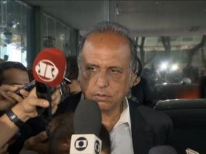 GNEWS Pezão (Foto: GloboNews)