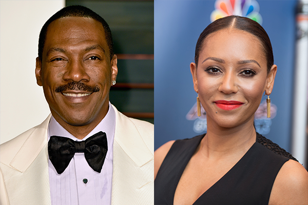 Eddie Murphy e Mel B (Foto: Getty Images)