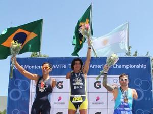 Para-atleta Roberto Carlos Pan-Americano de Paratriathlon (Foto: Praia Clube/Divulgação)