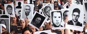 Ato em SP lembra vítimas da ditadura e pede punição a militares (Renato S. Cerqueira/Futura Press/Estadão Conteúdo)