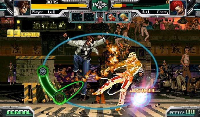 Rhythm of Fighters  é um jogo de música com lutadores de King of Fighters (Foto: Divulgação)