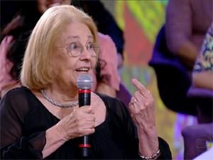 Vida Alves no 'Encontro com Fátima Bernardes' (Foto: Reprodução/TV Globo)