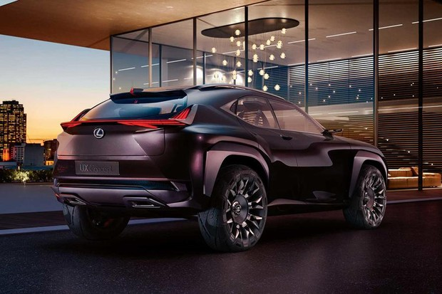 Lexus UX conceito (Foto: Divulgação)