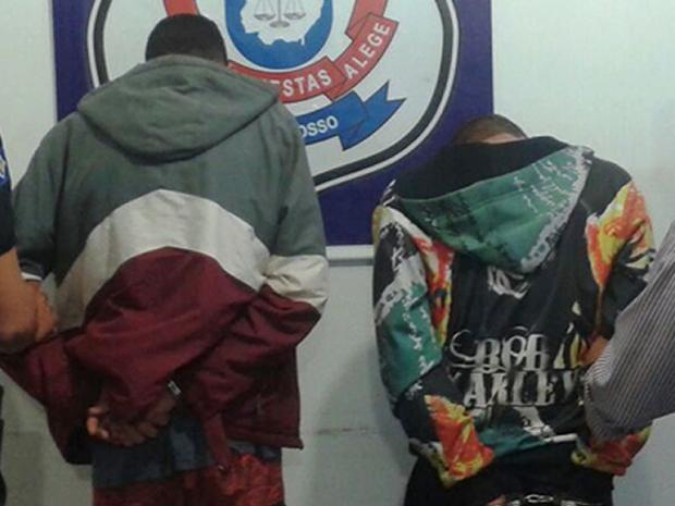 Jovem já estava preso por relizar roubo com o irmão (Foto: Divulgação/Polícia Civil)