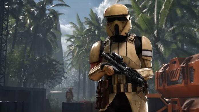 Star Wars Battlefront: Scarif tem mapas inspirados em cenários tropicais (Foto: Divulgação/EA)