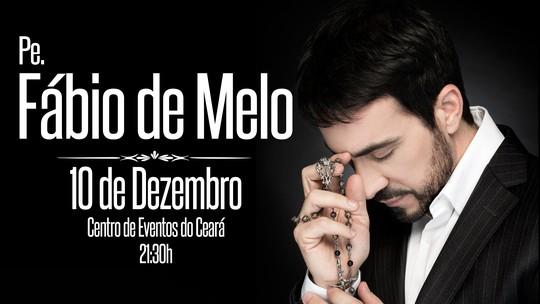 Padre Fábio de Melo faz show em Fortaleza e estará no Se Liga VM deste sábado (10)