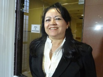 Juíza  Maria Segunda Gomes, de Olinda  (Foto: Luna Markman / G1 PE)