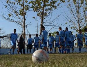 Equipe Sub-20 do Ji-Paraná (Foto: Roger Henrique)