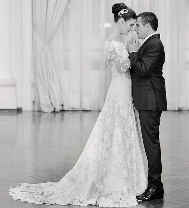 Eri Johnson em foto de seu casamento (Foto: Reprodução/Instagram)