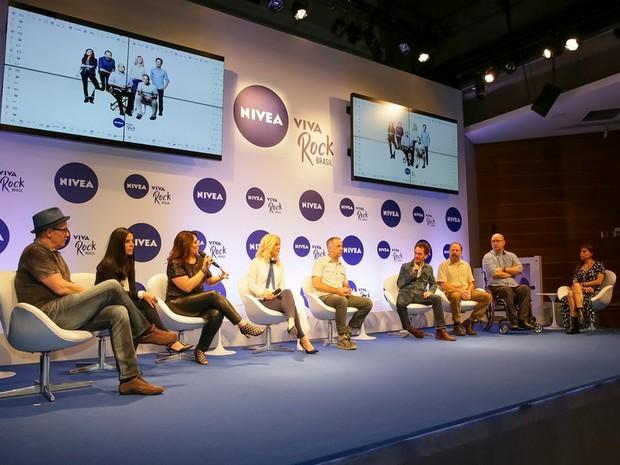Entrevista coletiva divulgou datas dos shows em sete capitais (Foto: Ali Caracas/Divulgação)