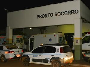 Vítima foi encaminhada ao hospital de pronto socorro João Paulo II (Foto: Toni Francis/G1)