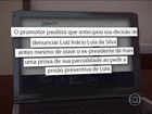 Pedido de prisão de Lula não tem base jurídica, diz presidente do PT