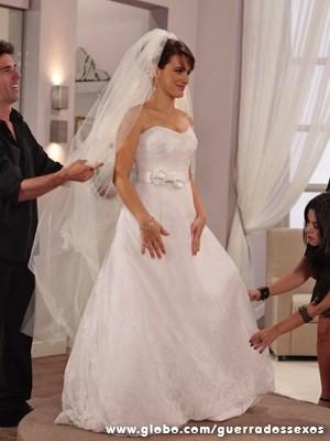 Uma verdadeira princesa (Foto: Guerra dos Sexos / TV Globo)