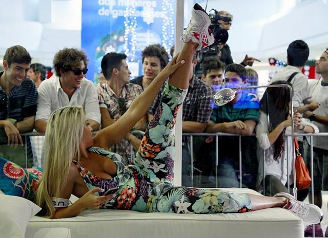 Ellen com tudo no lugar (Foto: Amor à Vida/ TV Globo)