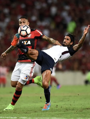 Guerrero Angeleri Flamengo x San Lorenzo (Foto: André Durão)