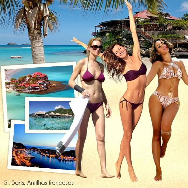 #Partiu! Veja os destinos preferidos dos famosos nas férias - Revista Quem