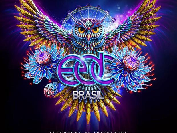 Cartaz da primeira edição brasileira do Electric Daisy Carnival (ED) (Foto: Divulgação)